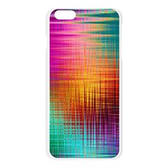 Colourful Weave Background Apple Seamless iPhone 6 Plus/6S Plus Case (Transparent)