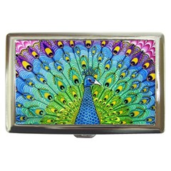 Peacock Bird Animation Cigarette Money Cases