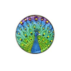 Peacock Bird Animation Hat Clip Ball Marker (4 Pack)
