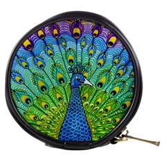 Peacock Bird Animation Mini Makeup Bags