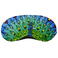 Peacock Bird Animation Sleeping Masks