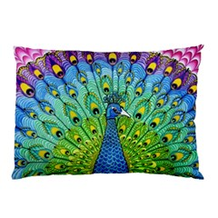 Peacock Bird Animation Pillow Case (Two Sides)