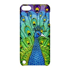 Peacock Bird Animation Apple Ipod Touch 5 Hardshell Case With Stand