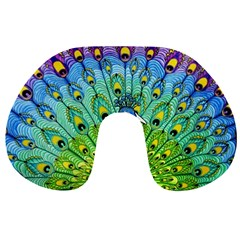 Peacock Bird Animation Travel Neck Pillows