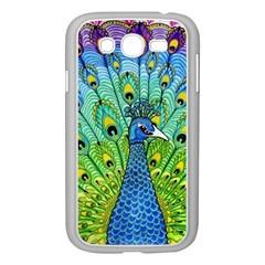 Peacock Bird Animation Samsung Galaxy Grand DUOS I9082 Case (White)
