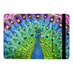 Peacock Bird Animation Samsung Galaxy Tab Pro 10.1  Flip Case