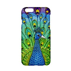 Peacock Bird Animation Apple Iphone 6/6s Hardshell Case