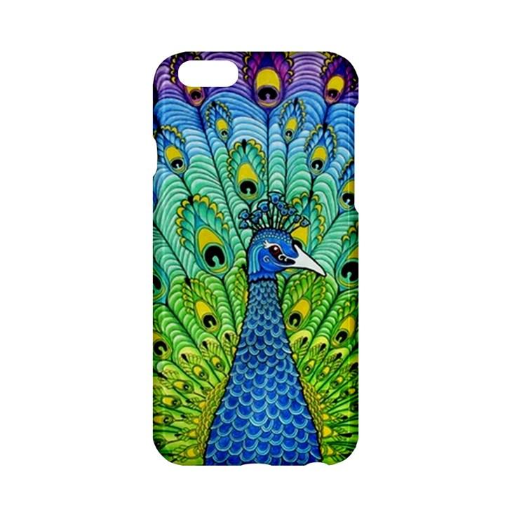 Peacock Bird Animation Apple iPhone 6/6S Hardshell Case