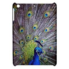 Peacock Bird Feathers Apple iPad Mini Hardshell Case
