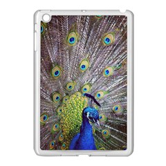 Peacock Bird Feathers Apple Ipad Mini Case (white)
