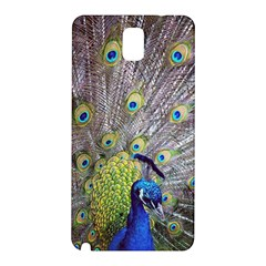 Peacock Bird Feathers Samsung Galaxy Note 3 N9005 Hardshell Back Case