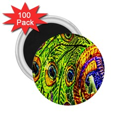 Peacock Feathers 2.25  Magnets (100 pack)