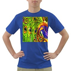 Peacock Feathers Dark T-Shirt