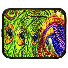 Peacock Feathers Netbook Case (XXL)