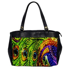 Peacock Feathers Office Handbags