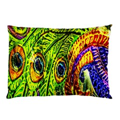 Peacock Feathers Pillow Case (Two Sides)