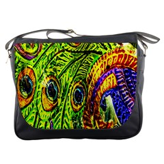 Peacock Feathers Messenger Bags
