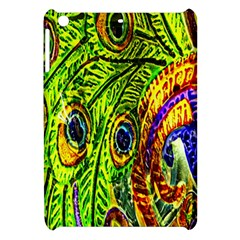 Peacock Feathers Apple iPad Mini Hardshell Case
