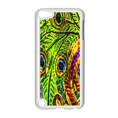 Peacock Feathers Apple iPod Touch 5 Case (White)