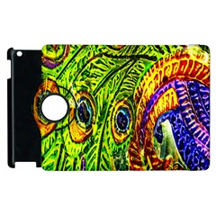 Peacock Feathers Apple iPad 2 Flip 360 Case