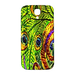 Peacock Feathers Samsung Galaxy S4 I9500/I9505  Hardshell Back Case