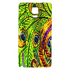 Peacock Feathers Galaxy Note 4 Back Case