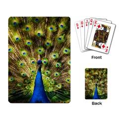 Peacock Bird Playing Card