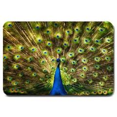 Peacock Bird Large Doormat