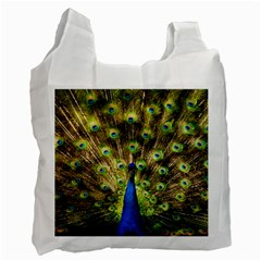 Peacock Bird Recycle Bag (one Side)