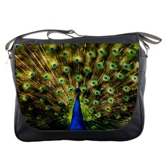 Peacock Bird Messenger Bags