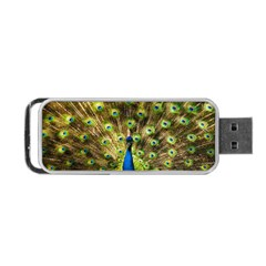 Peacock Bird Portable USB Flash (Two Sides)