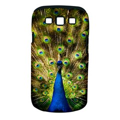 Peacock Bird Samsung Galaxy S III Classic Hardshell Case (PC+Silicone)