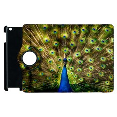 Peacock Bird Apple iPad 2 Flip 360 Case