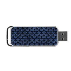 SCA3 BK-MRBL BL-STONE (R) Portable USB Flash (One Side)