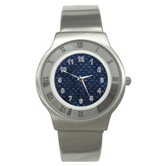 SCA2 BK-MRBL BL-STONE (R) Stainless Steel Watch