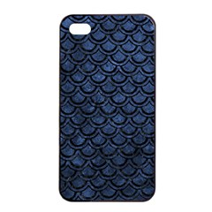 SCA2 BK-MRBL BL-STONE (R) Apple iPhone 4/4s Seamless Case (Black)