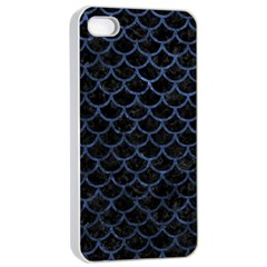 SCA1 BK-MRBL BL-STONE Apple iPhone 4/4s Seamless Case (White)