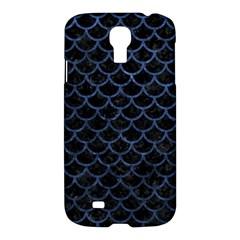 SCA1 BK-MRBL BL-STONE Samsung Galaxy S4 I9500/I9505 Hardshell Case