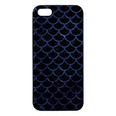 SCA1 BK-MRBL BL-STONE iPhone 5S/ SE Premium Hardshell Case