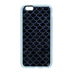 SCA1 BK-MRBL BL-STONE Apple Seamless iPhone 6/6S Case (Color)
