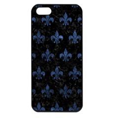 RYL1 BK-MRBL BL-STONE (R) Apple iPhone 5 Seamless Case (Black)