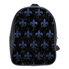 RYL1 BK-MRBL BL-STONE (R) School Bags (XL)