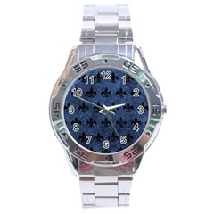 RYL1 BK-MRBL BL-STONE Stainless Steel Analogue Watch