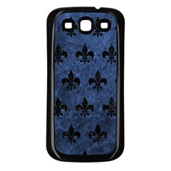 RYL1 BK-MRBL BL-STONE Samsung Galaxy S3 Back Case (Black)