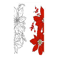 Poinsettia Flower Coloring Page Memory Card Reader
