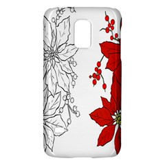 Poinsettia Flower Coloring Page Galaxy S5 Mini