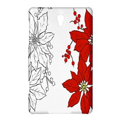 Poinsettia Flower Coloring Page Samsung Galaxy Tab S (8 4 ) Hardshell Case