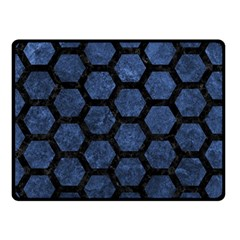 HXG2 BK-MRBL BL-STONE (R) Fleece Blanket (Small)