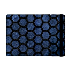 HXG2 BK-MRBL BL-STONE (R) iPad Mini 2 Flip Cases