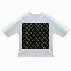 Peacock Inspired Background Infant/Toddler T-Shirts